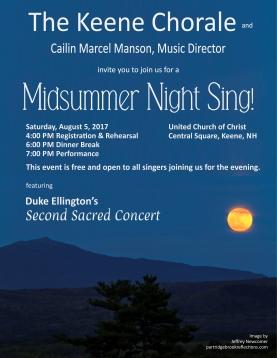 Midsummer Night Sing